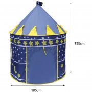 EB Gran Tamaño De La Superficie De La Luna Y Las Estrellas Plegable Niños Jugando Juegos Tienda De Juguetes - Azul