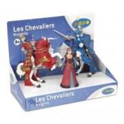 Set Figurine Papo - cinci figurine cavaleri