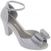 Zaxy Femei sandale Diva Top Sandal Fem 82442-50802 Grey/Silver 38