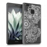 kwmobile Průhledné pouzdro pro Huawei P9 Lite - etno