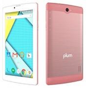 "Plum Optimax 12 Tablet Phone Phablet 4G gsm Unlocked 7"" Display Android Dual Camera ATT Tmobile MetroPCS etc Rose Gold"