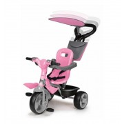 Triciclo Baby Plus Music Rosa Feber - Famosa