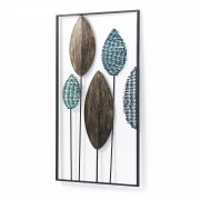 Kave Home Painel mural Leaves 54 x 104 cm