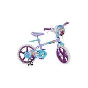 Bicicleta Infantil Bandeirante Frozen Disney Aro 14