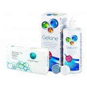 Biomedics 55 Evolution (6 лещи) + разтвор Gelone 360 мл.