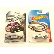 Hw Vehicle Bundle 2018 Hot Wheels Zamac 50Th Anniversary '71 Dodge Demon & 2017 Then And Now Viper Rt/10 340/365, White
