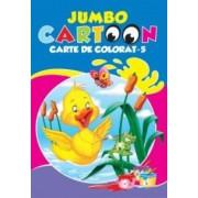 Jumbo Cartoon. Carte de colorat - 5