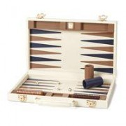 Backgammon Set Ivory Camel 15