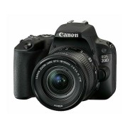 Canon EOS 200D 18-55 IS STM Black crni DSLR Digitalni fotoaparat i standardni zoom objektiv EF-S 18-55mm f/4-5.6 2250C002AA 2250C002AA