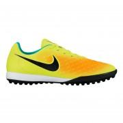 Zapatos Fútbol Hombres Nike Magistax Onda II TF-Amarillo