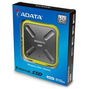 Adata SD700 series Black & Yellow 512Gb Solid State Drive