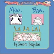 Moo, Baa, La La La!: Special 30th Anniversary Edition!, Hardcover
