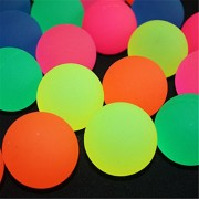 Fancyku Bouncy Balls Bulk Set - Assorted Colorful Neon Bright Solid Colors - High Bouncing Balls Bulk - for Kids Playtime, Party Favors, Prizes, Birthdays & More! - Pack of 10, 4.5cm