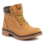 Туристически oбувки WRANGLER - Creek Fur WL02500F Tan Yellow 024