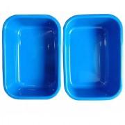 Bauzooka Blue High Quality Plastic Bucket Basin Tub (Medium Size) Used for Multipurpose- Storing Water Utensils in Kitc