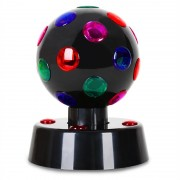 ONEconcept Disco Ball 4-B LED efect de lumină Negru 13,5 cm (RBL1-Disco-Ball)