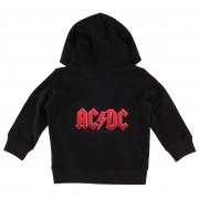 kapucnis pulóver gyermek AC-DC - Logo 4c - Metal-Kids - MK213