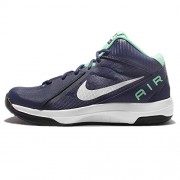 Nike The Air Overplay IX 9 Navy Green White Men Basketball Shoes