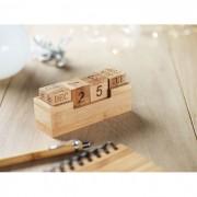 Asztali bambusz öröknaptár