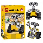 New Ideas Series Wall Elovable Yellow Robot WALL-E Model Building Brick Block Intelligent Educational Toys 687 Piece( Lego Compatable )