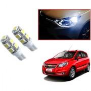 Auto Addict Car T10 9 SMD Headlight LED Bulb for Headlights Parking Light Number Plate Light Indicator Light For Chevrolet Sail Hatchback