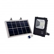 Foco Proyector de Área LED Solar 50W, Iluminación