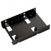 Adaptor Silverstone de la 3.5 inch la 2x 2.5 inch HDD/SSD, culoare neagra, SST-SDP08B