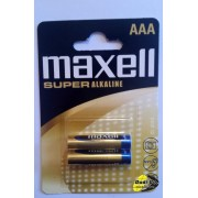 Maxell super alkalna baterija blister 2pak LR03
