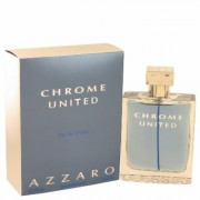 Chrome United For Men By Azzaro Eau De Toilette Spray 3.4 Oz