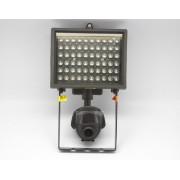 Водоустойчива видео камера вградена в прожектор с 60 LED диода