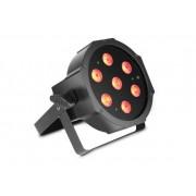 Cameo Flat Par 1 RGBW IR LED Pad, black