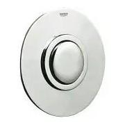 Grohe Pneumatik-Betätigung universal manuelle Pneumatik-Betätigung WC chrom 43977000