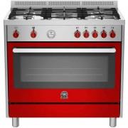 La Germania Prm965gxrt Cucina 90x60 5 Fuochi A Gas Forno A Gas Ventilato 115 L C