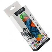 MAGICYOYO 100% Polyester Professional Yoyo Strings for Responsive and Non Responsvie Yoyos - pack of 25,Blue, Green, White,Yellow, Orange