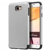 Funda Case Para Samsung J7 Prime Protector Crash - Silver