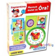 Sapientino Mennyit mutat az óra? oktatójáték