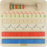 Joc de numarat Numere pare si impare din lemn +3 ani Masterkidz