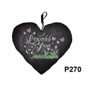 Díszpárna szív P270 Legjobb Anya - Díszpárna