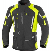 Büse Torino Pro Chaqueta de moto textil Negro Amarillo 11XL