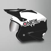 O'Neal Casque Jet O'Neal Volt Noir-Blanc M