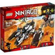 LEGO NINJAGO - AVION INVIZIBIL PENTRU INCURSIUNI 70595