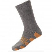 [6 Pack] Holeproof Explorer Extreme Impact Crew Cotton Blend Socks Grey Marle SZWO1A