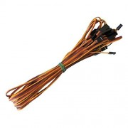Hobbypower 1000mm Servo Extension Cord Cable Lead Wire Jr Futaba 100cm 26 Awg (Pack Of 10 Pcs)