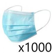 TS Santé 1000 Masques chirurgicaux Norme CE / Norme EN14683 / AC2019