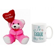ME&You Gifts for Father, Father's Day Gifts, Father's Day Gift Set- Teddy & Mug IZ18NJPTM-1397