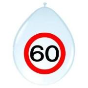 Ballonnen 60 jaar verkeersbord