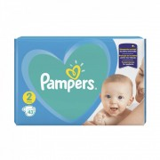 Pampers New Baby-Dry Mini 2, 4-8 kg, 43 db
