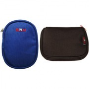Sky Hard Disk Pouch Combo Nvy Blue With Black