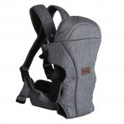 Baninni 2-in-1 Baby Carrier Sacco Melange Grey BNBC005-GY