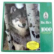 Big Ben Wolf in Montana 1000 Piece Jigsaw Puzzle